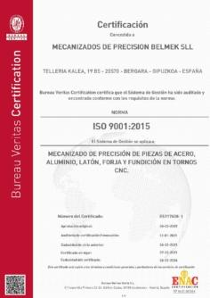 Sistema de gestión de Calidad ISO 9001-2015