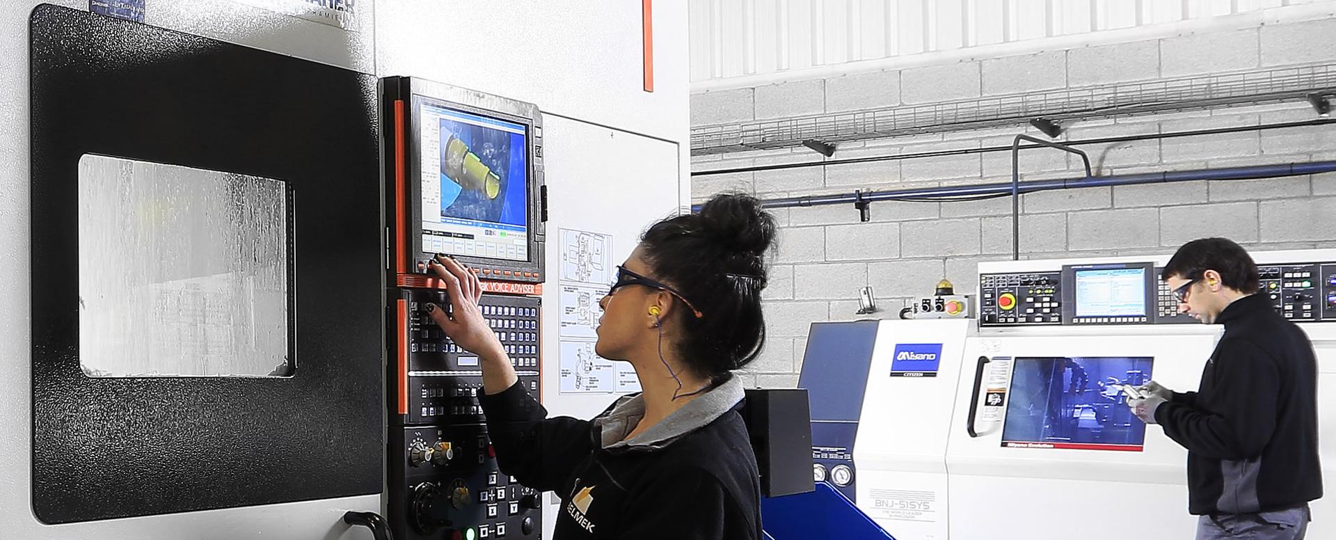 Máquinas CNC de última generación
