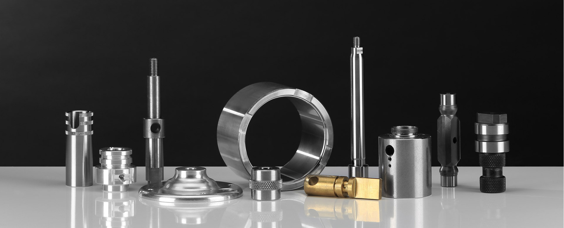 Precision machining of series parts according to plan